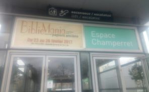 Deuxième salon «Bibliomania»