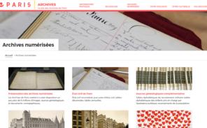 Paris: les archives ont un nouveau site Internet