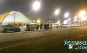 Porte de la Chapelle : important dispositif policier pour empêcher de nouveaux campements sauvages