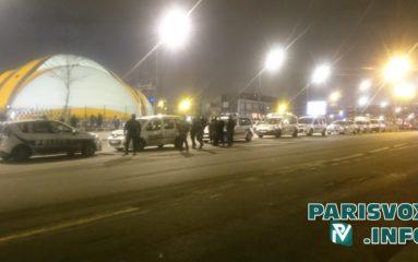 Porte de la Chapelle: important dispositif policier pour empêcher de nouveaux campements sauvages
