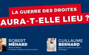 Rober Ménard et Guillaume Bernard à Versailles le 23 février