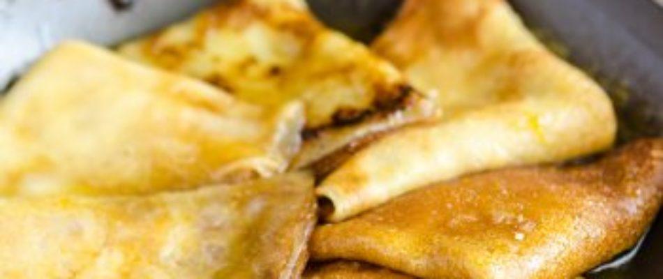 La recette du mois: les crêpes flambées!