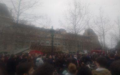 Manifestation contre la «corruption» des politiques