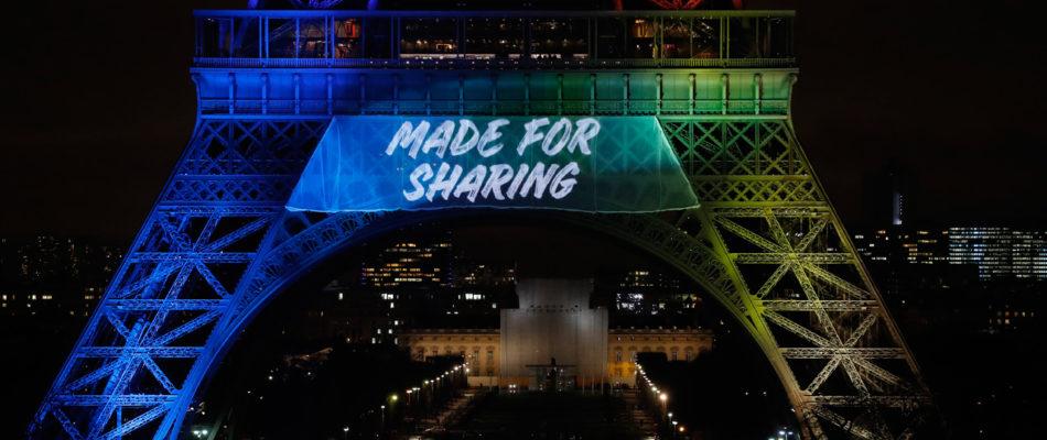 «Made for Sharing»: le slogan qui fait polémique …