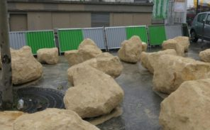 Boulevard Ney: des pierres contre les campements sauvages