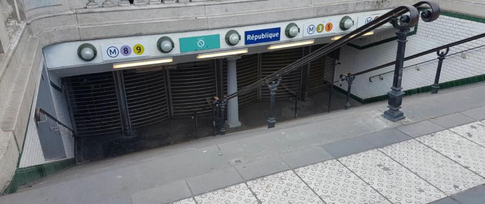 Gilets Jaunes: quelles stations de métro fermées?