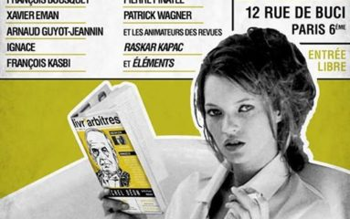 Vendredi 3 mars: soirée «Livr'arbitres»