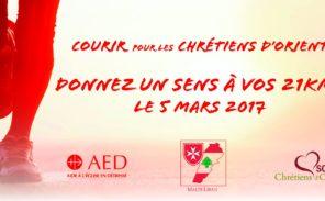 5 mars: Courir pour les Chrétiens d'Orient…