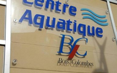 Visite au centre aquatique de Bois-Colombes