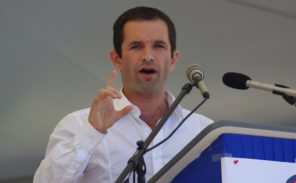 Meeting de Benoît Hamon à Paris Berçy