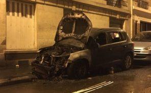 Scènes d'émeutes dans le 19ème arrondissement