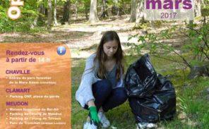 Grand nettoyage à la forêt domaniale de Meudon
