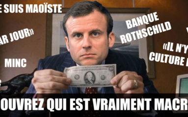 A l'auberge Macron …