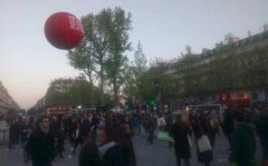 Concert de soutien à Benoît Hamon, place de la République