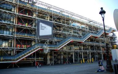 Grève au centre Pompidou