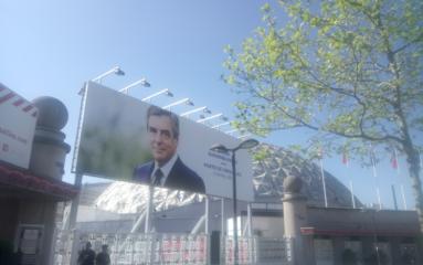 Meeting de François Fillon Porte de Versailles