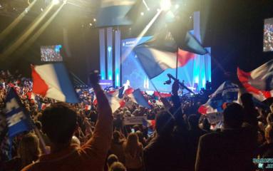 Meeting au Zénith: Marine Le Pen galvanise ses partisans