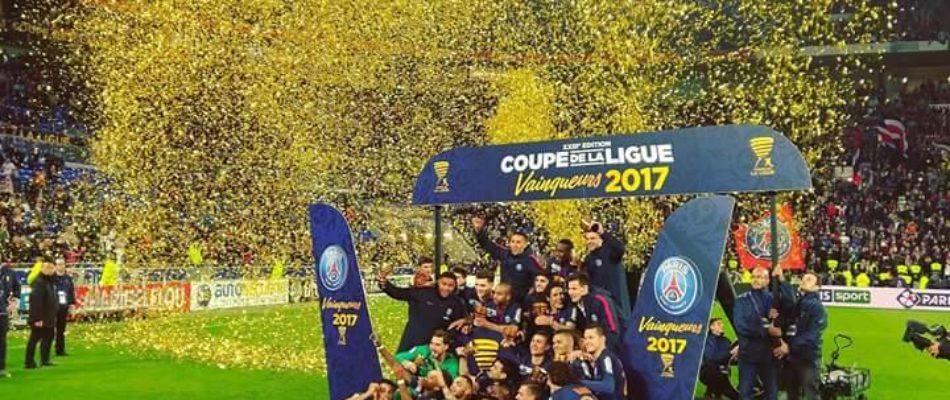 PSG: 7ème victoire en coupe de la Ligue.