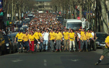 Paris: les randonnées en rollers interdites