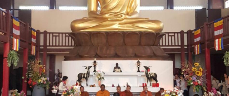Nouvel an Khmer à la grande pagode de Vincennes.