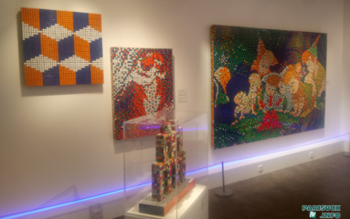 L'artiste «Invader» investit le Musée en herbe avec l'exposition «Hello, My game is …»