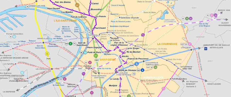 Prolongement de la branche sud  du Tramway T8