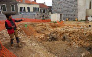 Montlhéry (91): les vestiges du Moyen-Age envoyés à la benne