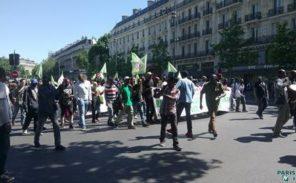 Nouvelle manifestation de migrants clandestins à Paris
