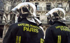 Paris 20e: un pompier aspergé d'acide lors d'une intervention