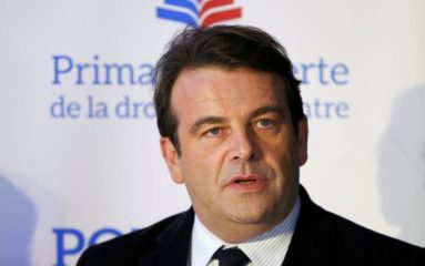 Thierry Solère, questeur de l'Assemblée Nationale.