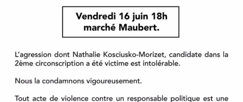 Paris: rassemblement «contre la violence et pour la démocratie»