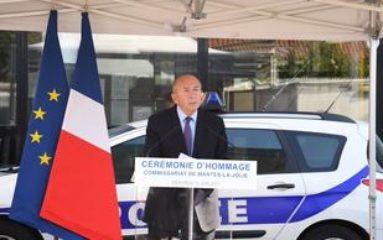 Magnanville: un an après l'attaque terroriste, Gérard Collomb rend hommage au couple tué