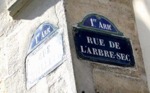 Histoire de Paris: la rue de l'Arbre Sec
