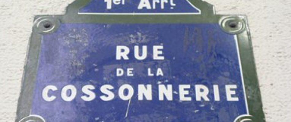 Histoire de Paris : la rue de la Cossonnerie