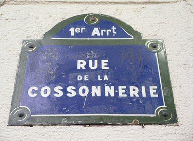 la rue de la Cossonnerie