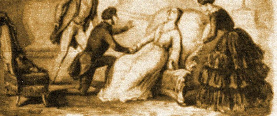 Histoire de Paris: la Dame aux Camélias au Boulevard de la Madeleine