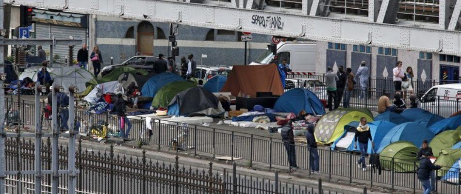 Le contribuable parisien paye le petit-déjeuner des clandestins de la Chapelle