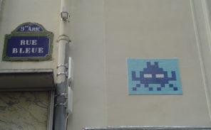 Histoire de Paris: La rue Bleue