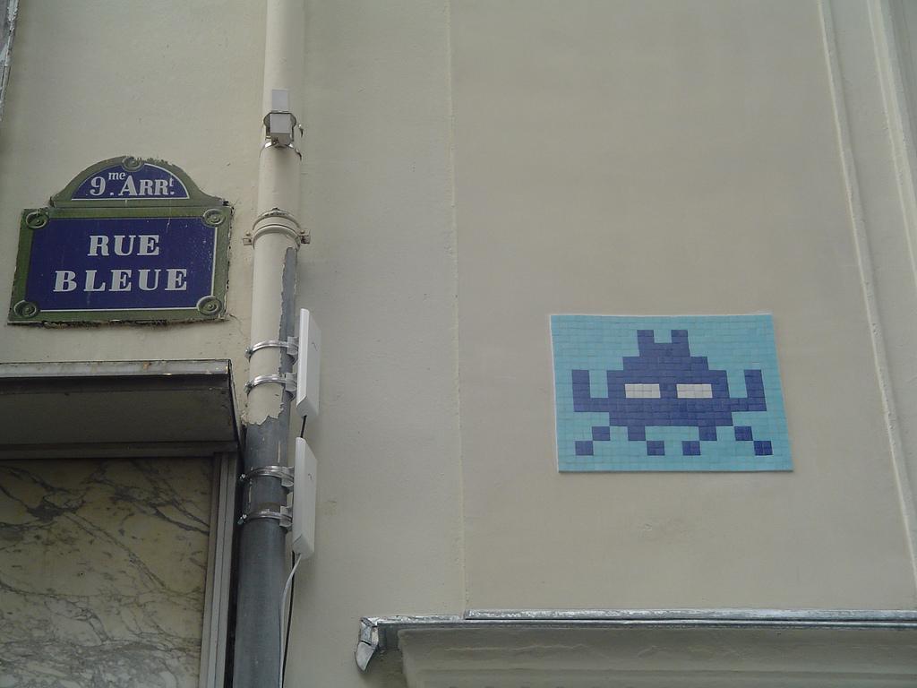 rue bleue