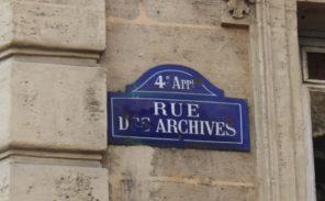 Histoire de Paris: Jacques Cœur rue des Archives