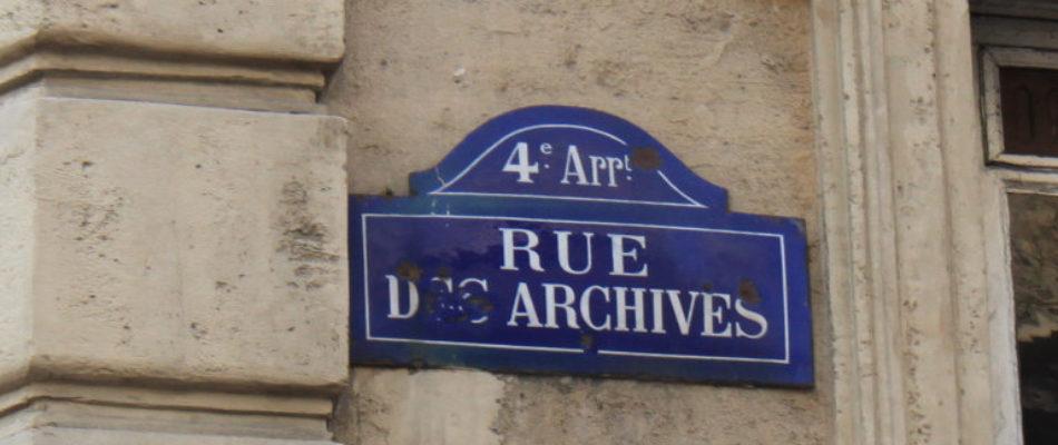 Histoire de Paris : Jacques Cœur rue des Archives