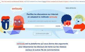 Le site «Seriously» lutte-t-il sérieusement contre la haine sur internet?