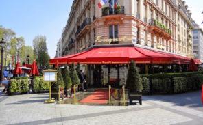 Réouverture du «Fouquet's»