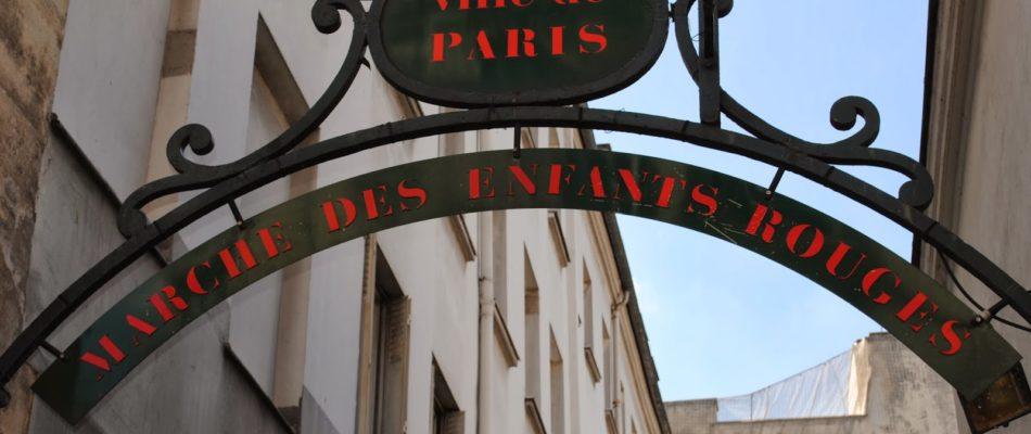 Histoire de Paris: le Templier et le marché des enfants rouges