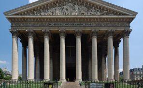 Histoire de Paris: l'église de la Madeleine.