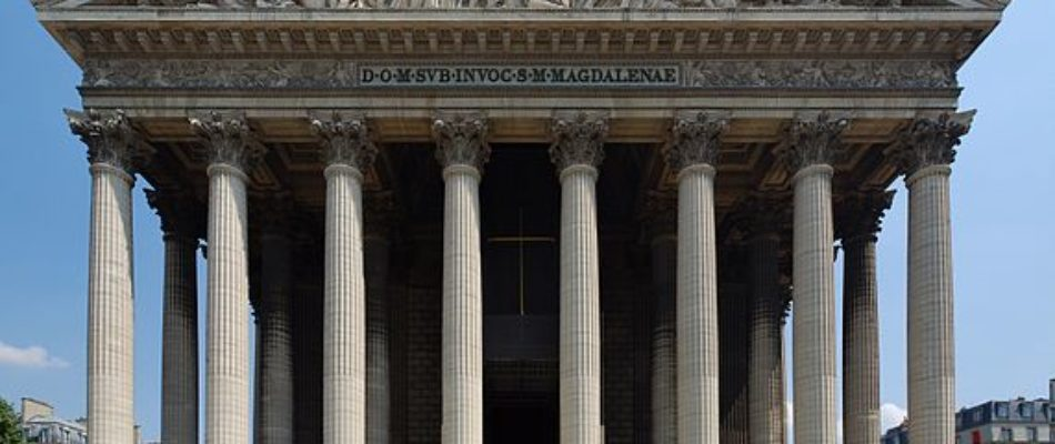 Histoire de Paris : l'église de la Madeleine.