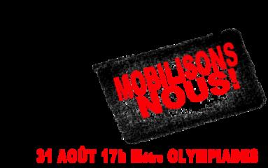 APL: mobilisation le 31 août