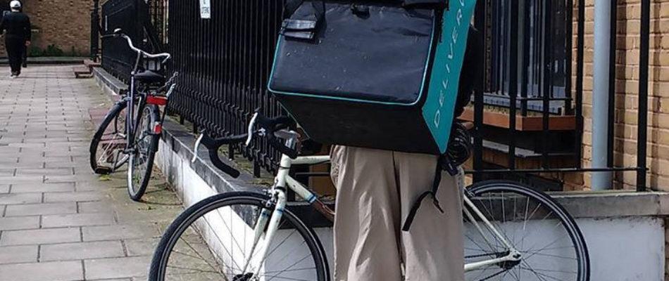 Nouvelle mobilisation des livreurs de repas à vélo