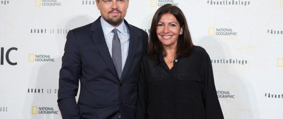 Anne Hidalgo primée par Leonardo DiCaprio