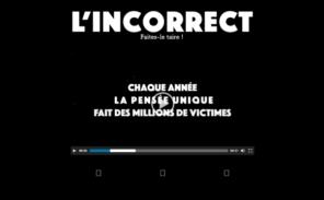 «L'Incorrect» : un nouveau mensuel bientôt dans les kiosques